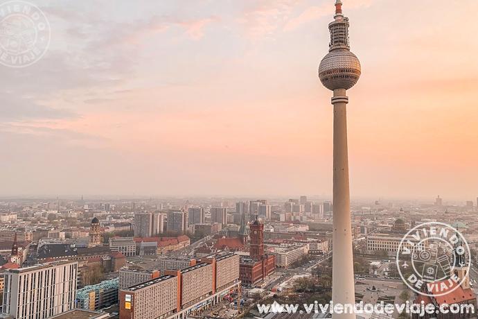 Que visitar en Berlín, vistas desde el mirador del Hotel Park Inn