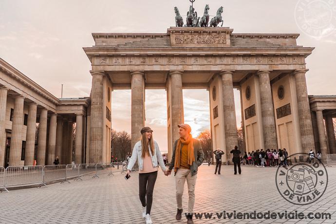 Preparativos de viaje a Berlín por Libre, puerta de Brandeburgo