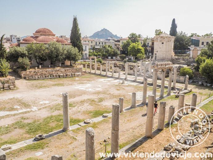 Ágora Romana en Atenas