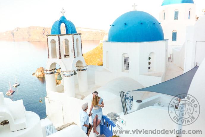 Alquilar un coche en Grecia. Santorini
