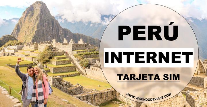 Cómo tener internet en Perú, tarjeta SIM