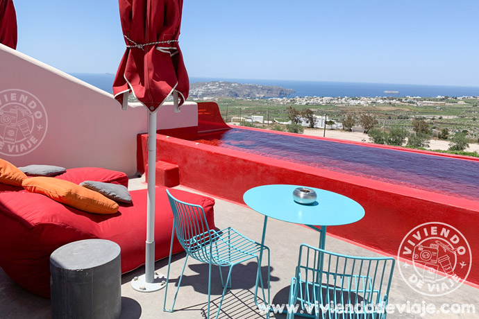 Islas griegas por tu cuenta, alojamiento en Santorini