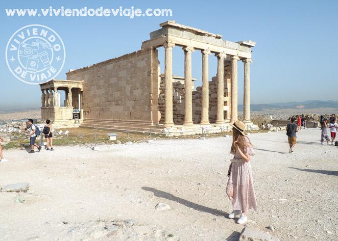 Que visitar en Atenas, Erecteón en Acrópolis