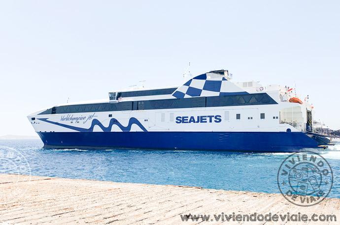 Ferry SeaJets, islas griegas por libre