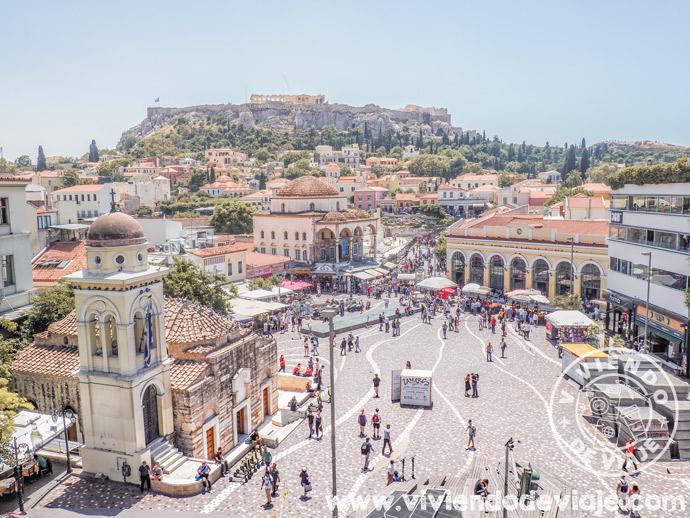 Dónde alojarse en Atenas   Barrio de Monastiraki