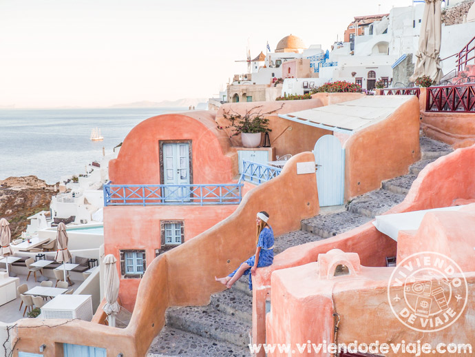 Alojamiento en Santorini - Kastro Oia Houses