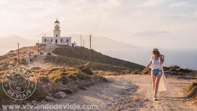 Faro de Armenistis, Mykonos