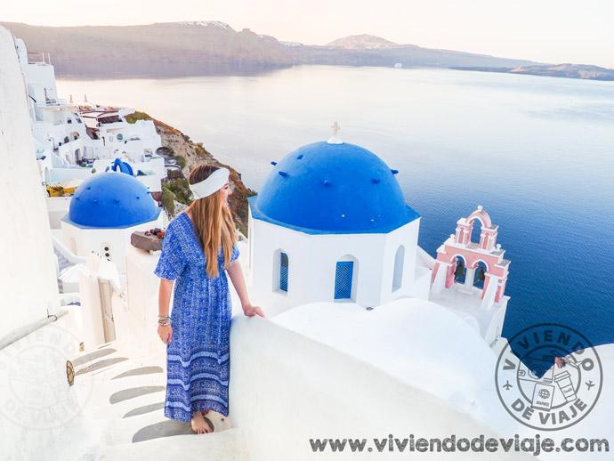 Oía, uno de los lugares imprescindibles que ver en Santorini