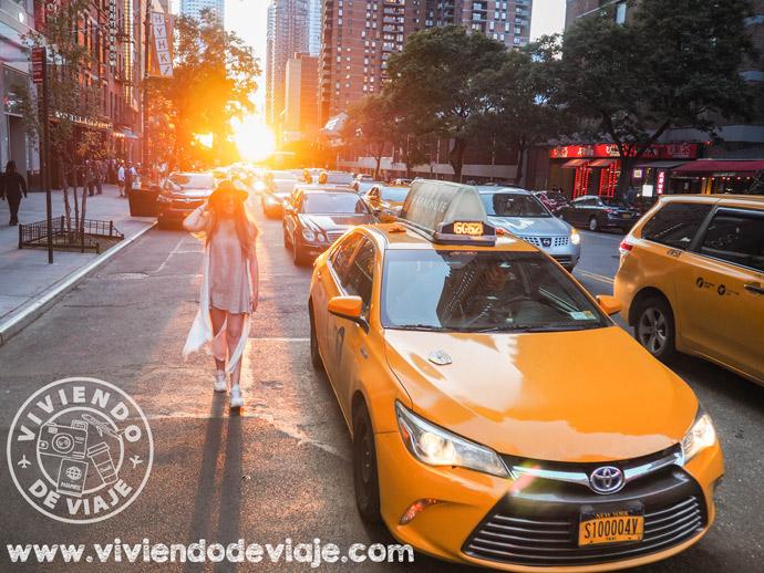 Cómo ir del aeropuerto JFK a Manhattan en taxi