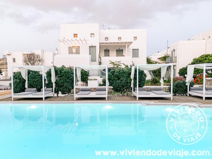 Corfos Hotel, el hotel de Mykonos que elegimos nosotros