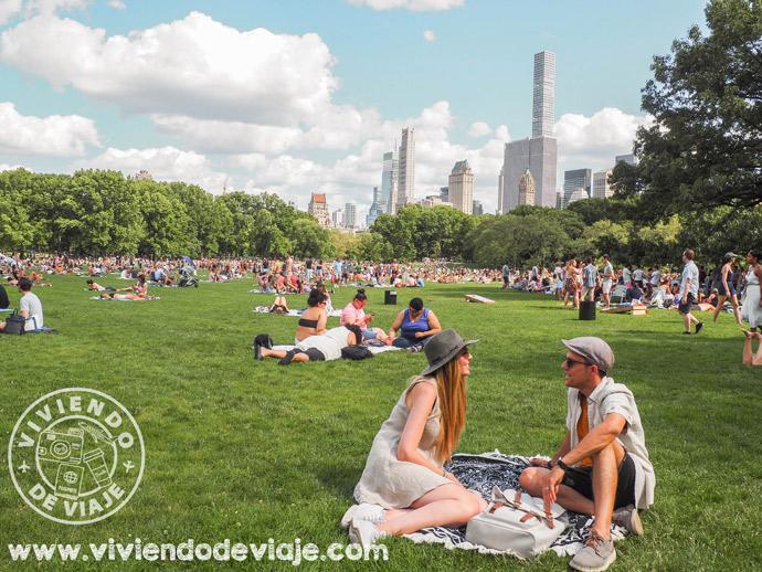 Dónde alojarse en Nueva York, Central Park