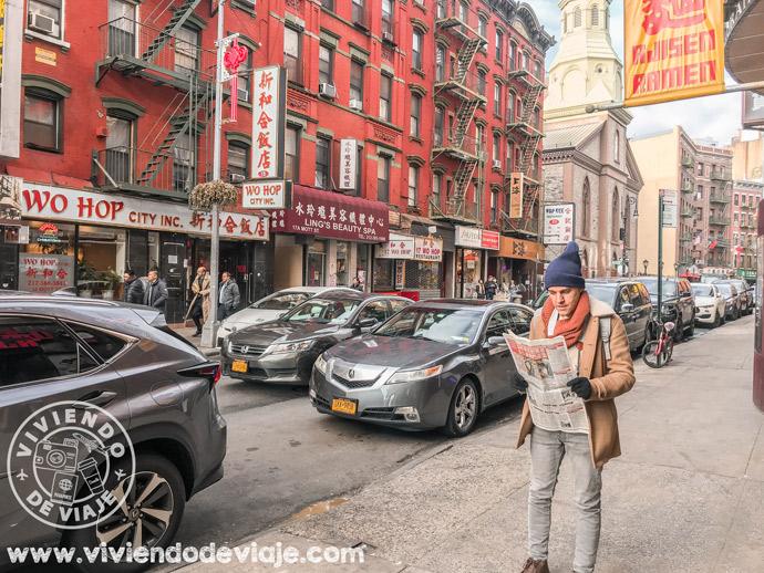 Dónde alojarse en Nueva York: Chinatown