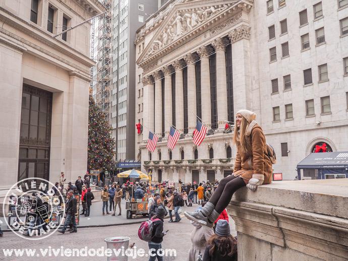 Alojarse en Nueva York, distrito financiero