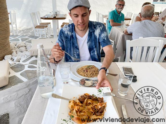 Restaurante D'Angelo, Mykonos