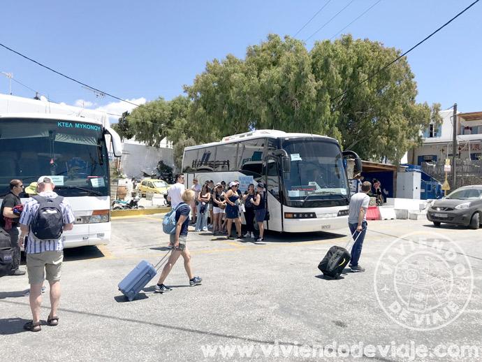 Cómo moverse por Mykonos