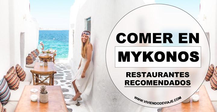 Dónde comer en Mykonos