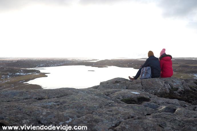 Monte Helgafell en Islandia