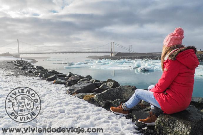 Lago glaciar Jokulsarlon, 7 días en Islandia