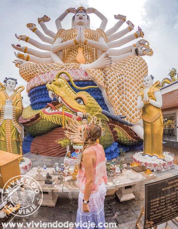 Wat Plai Laem, Koh Samui - Tailandia en 15 días