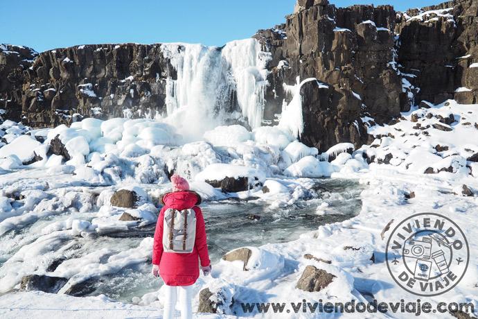 Cascada Oxagarfoss   Islandia en 7 días