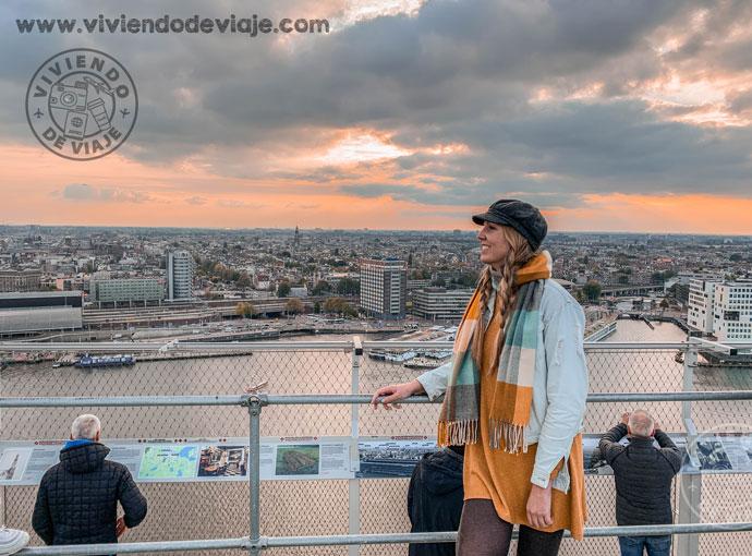 Ámsterdam en 3 días | Mirador A'Dam