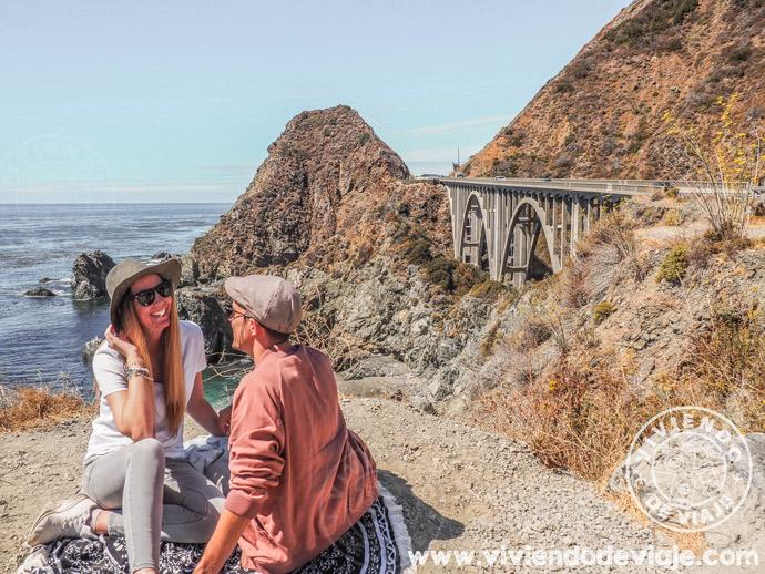 Ruta por el Big Sur de Los Angeles a San Francisco - Big Creek Bridge