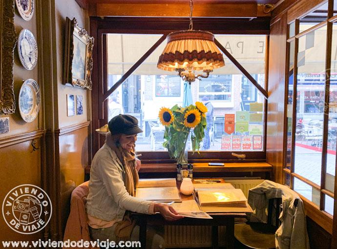 Restaurante The Pantry, para probar la comida típica en Amsterdam