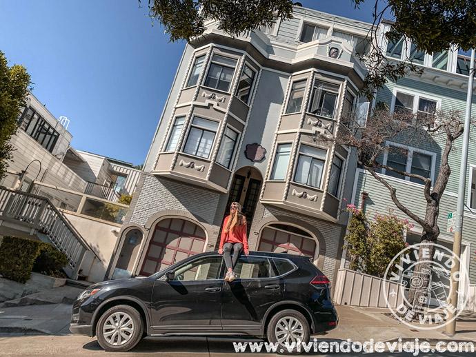 Nuestro coche de alquiler para ir de Los Angeles a San Francisco
