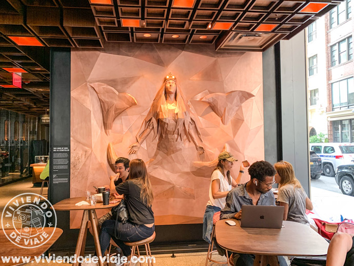 Starbucks Reserve en Nueva York
