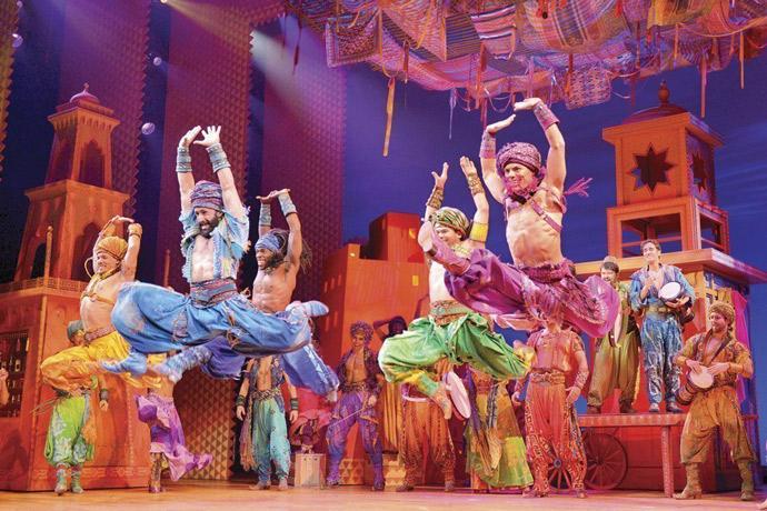 Musical de Aladdin en Broadway