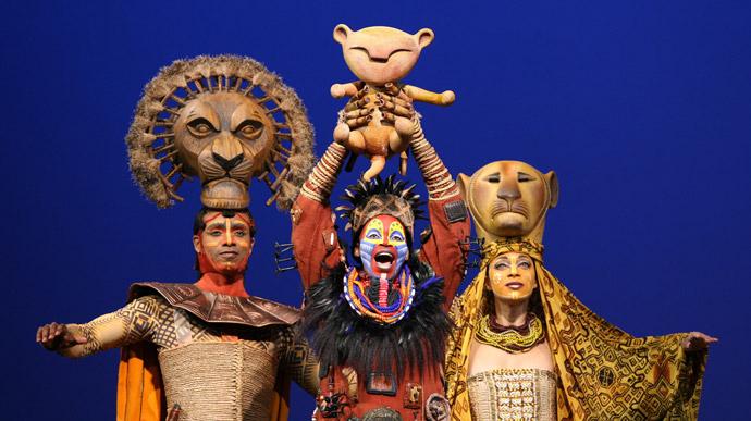 Musical del Rey León en Broadway
