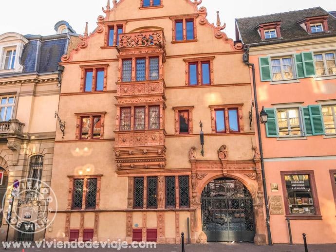 Maison des Têtes en Colmar
