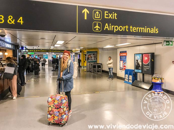 Todas las opciones para ir del aeropuerto de Gatwick a Londres