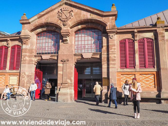 Mercado cubierto de Colmar