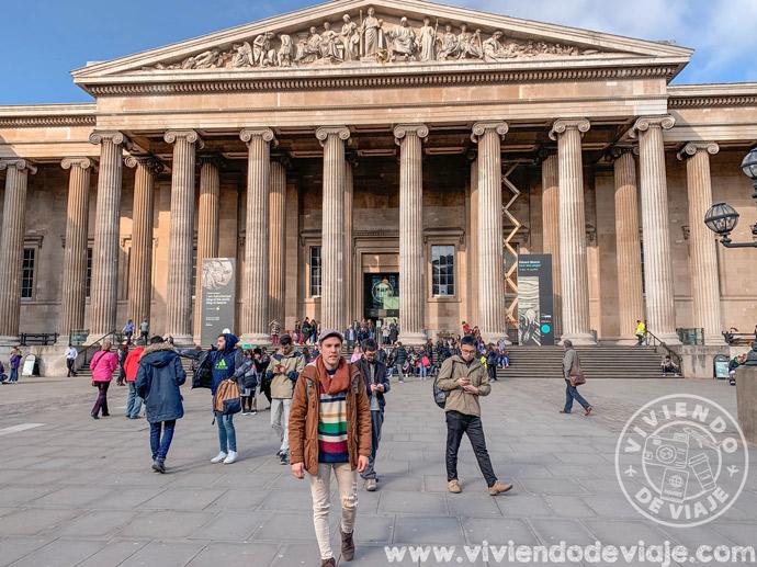 Visitar el Museo Británico, Londres