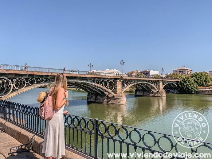 Vistas desde el Puente de Triana, Sevilla