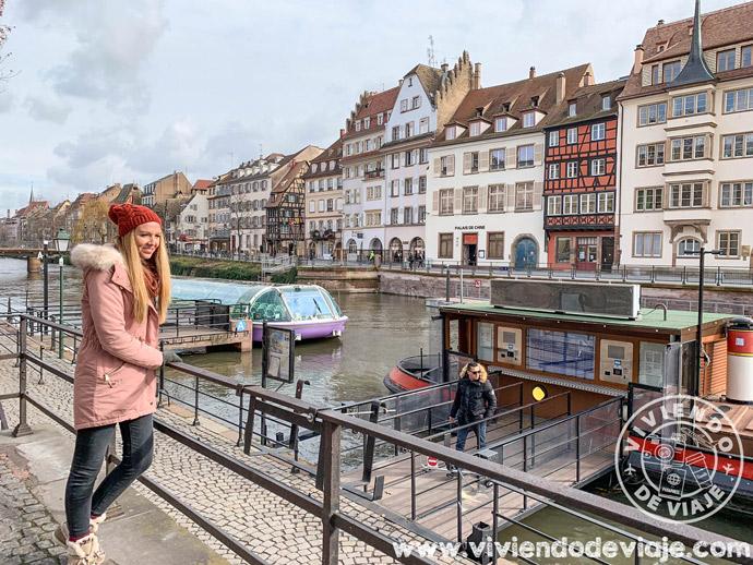 Paseo en barco por Estrasburgo