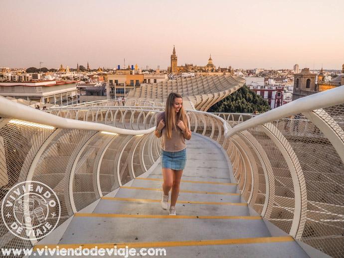 Que ver en Sevilla | Metropol Parasol más conocido como Las Setas de Sevilla