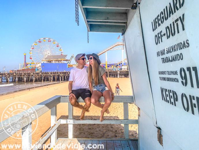 Caseta de los vigilantes de la playa, Santa Monica