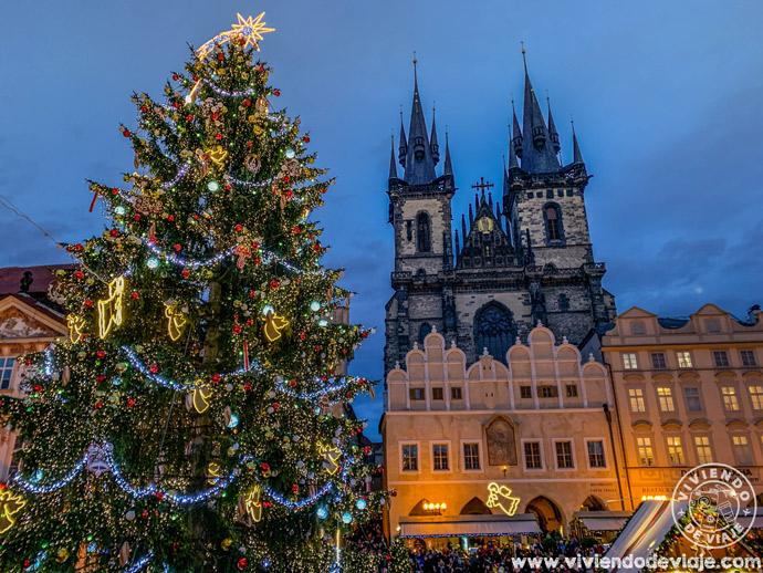 Mercado de Navidad de la Plaza de la Ciudad Vieja, Praga