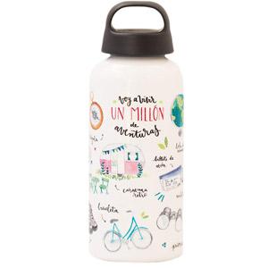 Regalos para viajeros, botella de aluminio