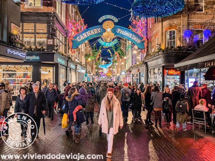 Carnaby Street, Londres en Navidad