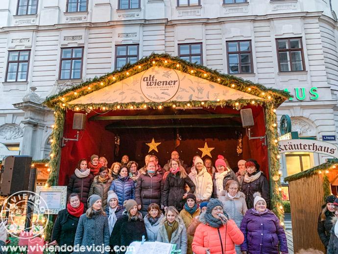 Coro de Navidad en Alt Wiener