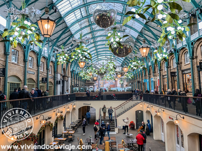 Covent Garden, Navidad en Londres
