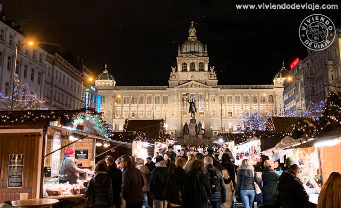 Navidad en la Plaza de Wenceslao, Praga