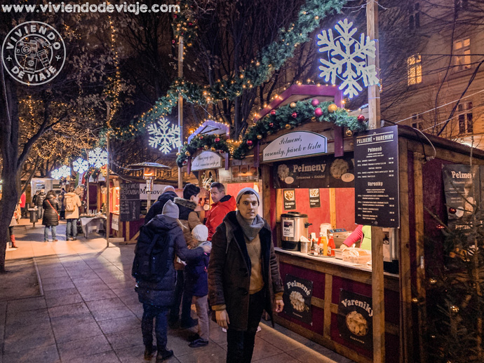 Mercado de Navidad de la Plaza Tylovo, Praga