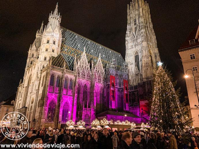 Mercado de Navidad Stephansplatz, en el centro de la ciudad de Viena