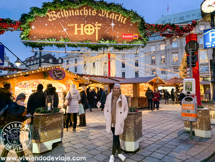 Mercado de Navidad de Höf en Viena