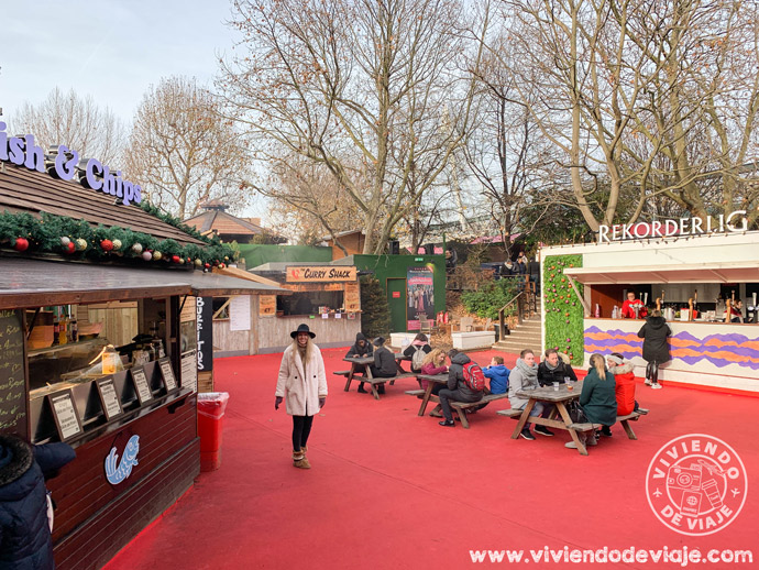 Southbank Market, Londres en Navidad