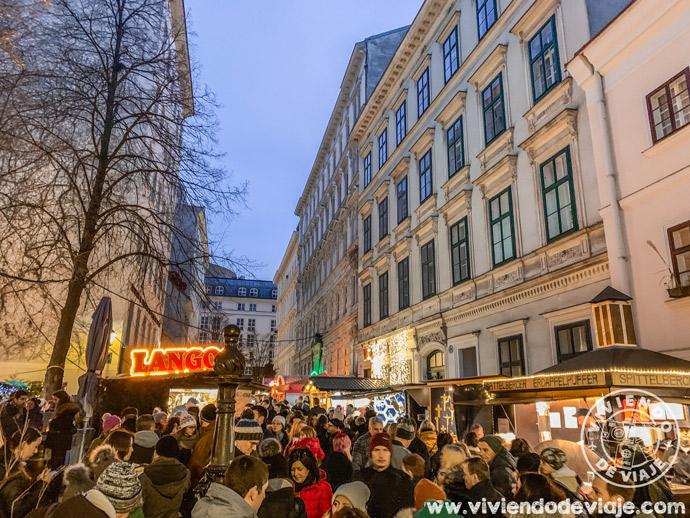 Mercado de Navidad en los callejones de Spittelberg